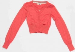 CKS Cardigan MOON coral fever