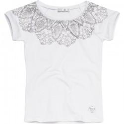 CKS T-Shirt HOBLEY white silver