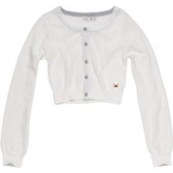 CKS Feinstrick Bolero MOON bright white