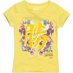 CKS T-Shirt HIROKI yellow orchid