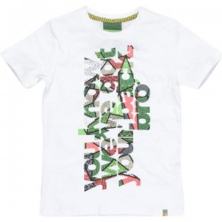CKS T-Shirt HUS bright white