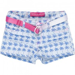 CKS Jeans-Short TIMEO palm tree blue