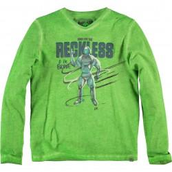 CKS Langarm-Shirt/Longsleeve HOUSERA funky green