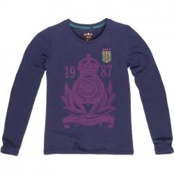 CKS Langarm-Shirt/Longsleeve CROWN night blue