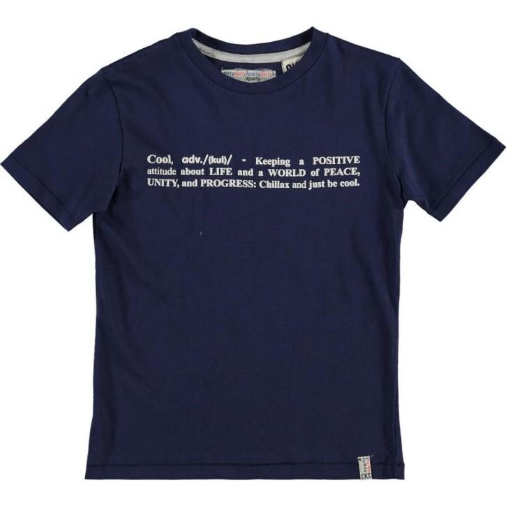CKS T-Shirt HOLDENBURG wasco navy