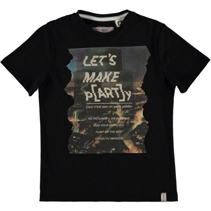 CKS T-Shirt HORST photo black