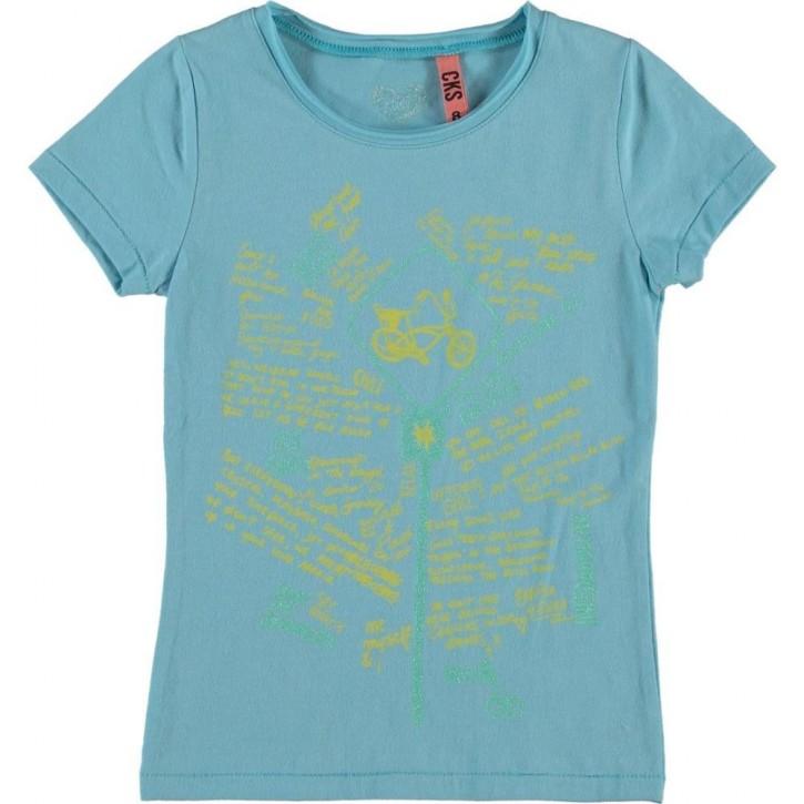 CKS T-Shirt ROXYA  bay blue