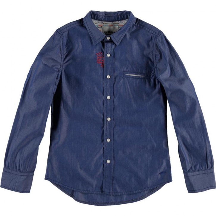 CKS Hemd RICHELANGELO blue denim