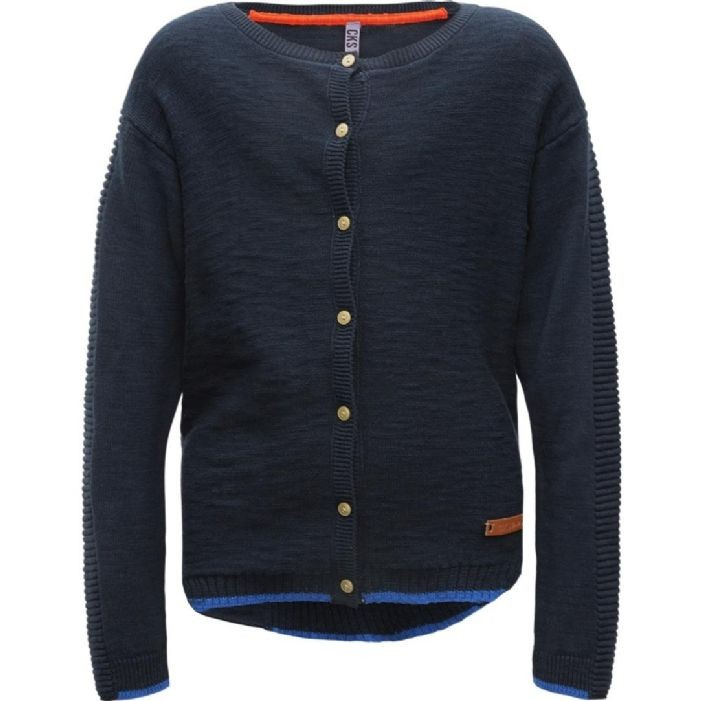 CKS Cardigan/Strickjacke RAINBOW navy