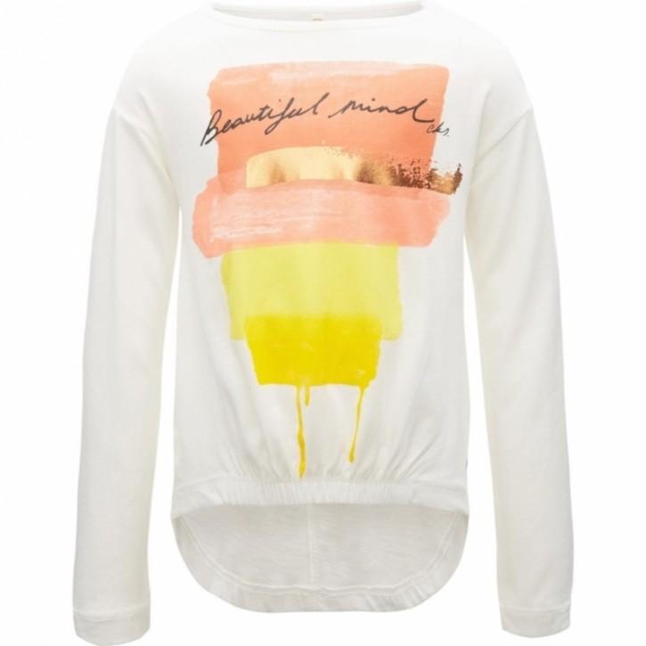 CKS Langarm-Shirt/Longsleeve MUCIA ecru