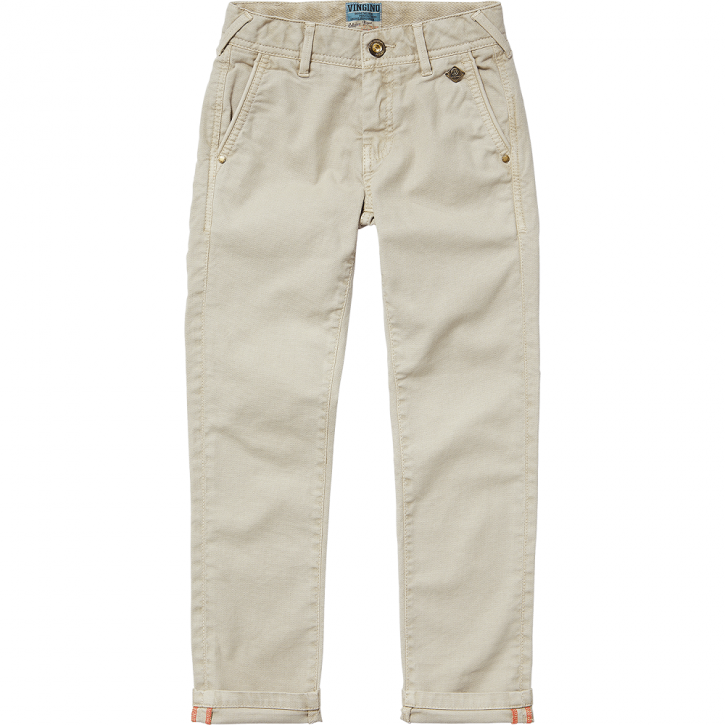 Vingino Jungs Chino-Hose SANAIRO sand slim fit