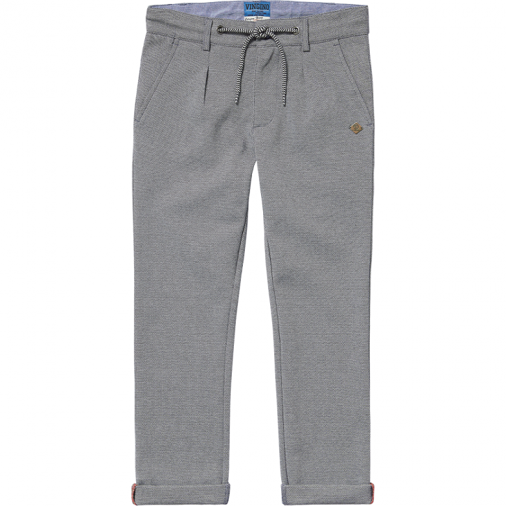 Vingino Jungs Sweat-Chino-Hose SAIBO grey mele