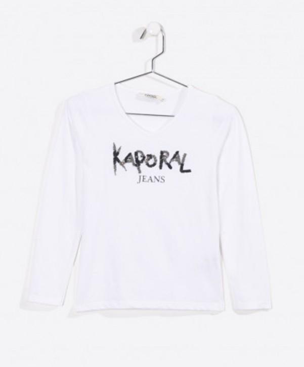 Kaporal Langarm-Shirt/Longsleeve DIEM white