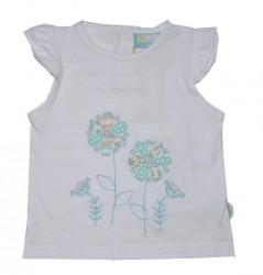Paglie Mini T-Shirt weiß