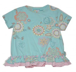 Paglie Mini T-Shirt big flowers