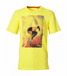 O´Neill T-Shirt Monrovia sunshine yellow Print