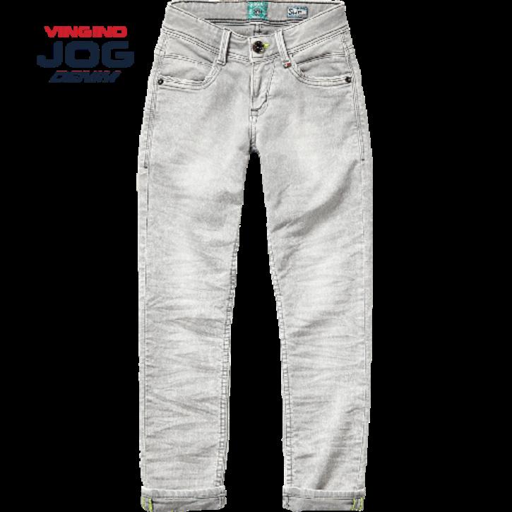Vingino Jungs Slim Jog Jeans DAMONE light grey