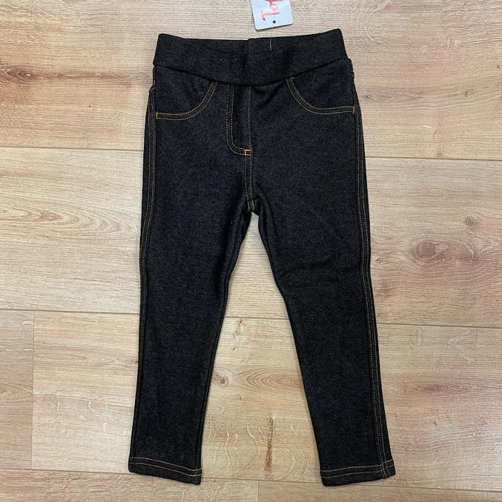 Topo Legging Thermo-Jeggings black denim