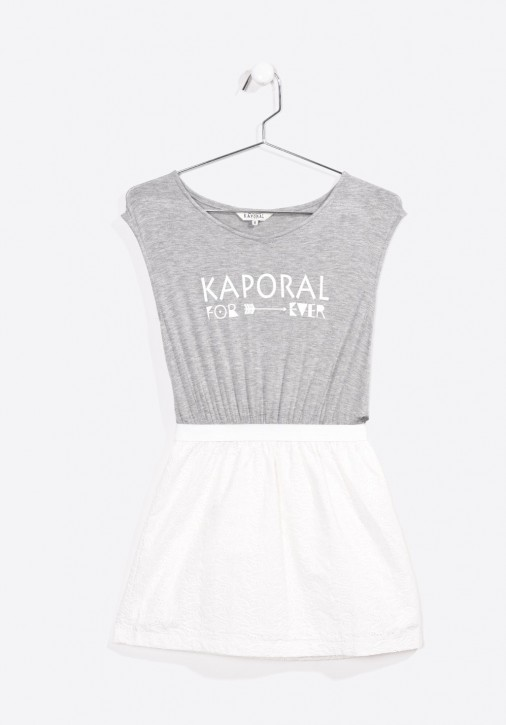 Kaporal Kleid FRANCE offwhite