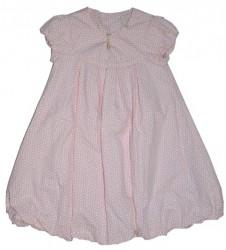 Paglie Ballon-Kleid rose mit weißen Punkten
