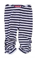 Paglie Legging in navy-weiss