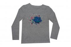 Paglie Langarm-Shirt/Longsleeve grau melange
