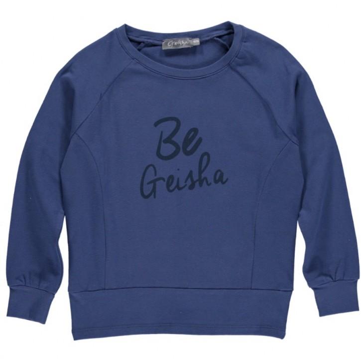Geisha Langarm-Shirt/Longsleeve raf blue
