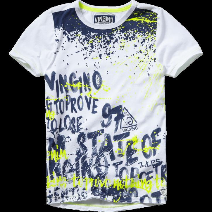 Vingino T-Shirt HEDDO real white