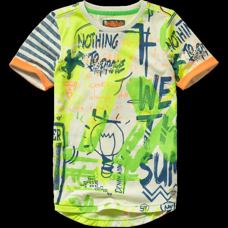 Vingino T-Shirt IYAL neon green