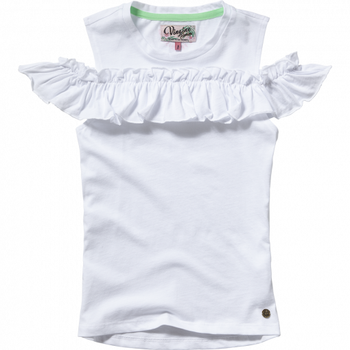 Vingino T-Shirt Ilorah real white