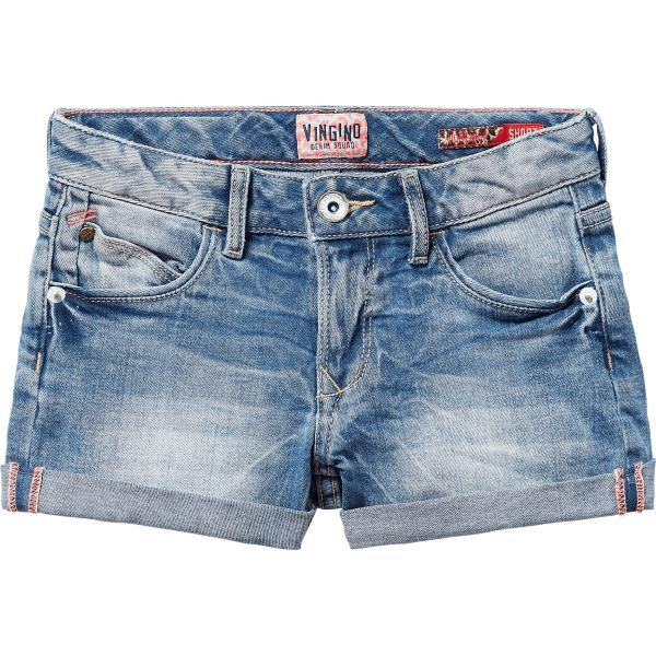 Vingino Jeans Short DOMENICA light indigo