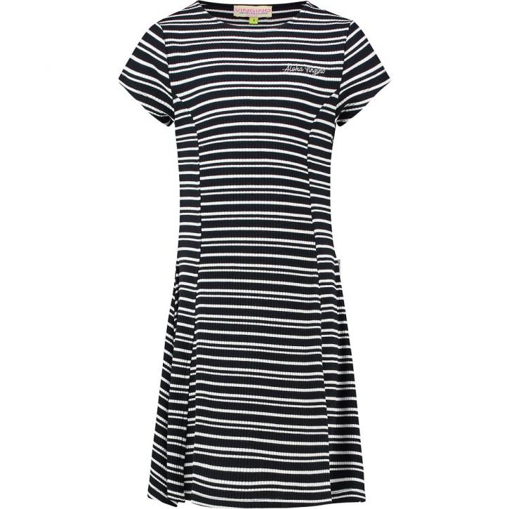 Vingino Kleid PELORAH Streifen dark blue
