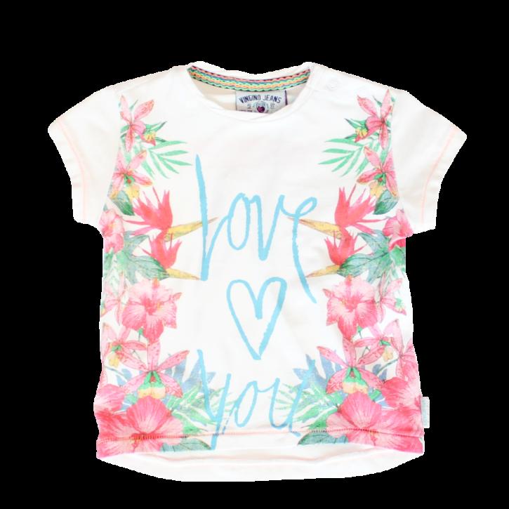 Vingino Mini Girls T-Shirt HANANI real white