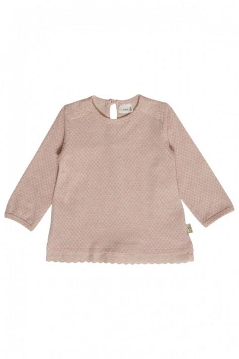 Hust & Claire Langarm-Shirt/Longsleeve peach melange