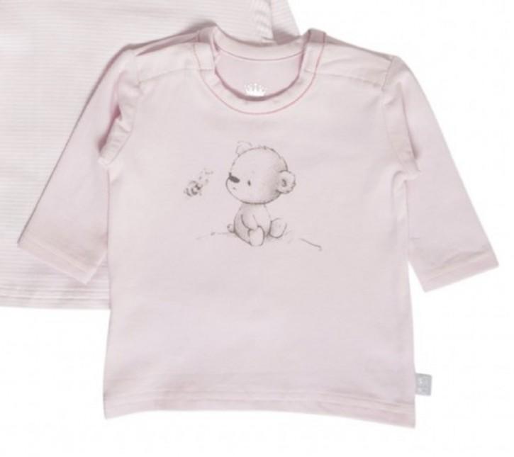 Hust & Claire Langarm-Shirt/Longsleeve Bär soft rose