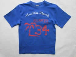 Blue Effect T-Shirt blau