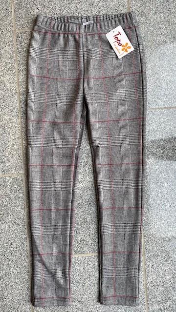 Topo Legging Thermo-Legging Karo grau