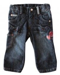 Whoopi Jeans-Hose blue denim