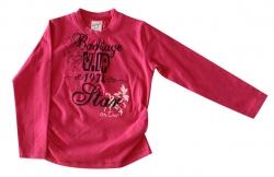 Whoopi Shirt / Longsleeve dark pink