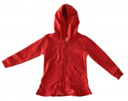 Whoopi Sweat-Kapuzen-Jacke spicy orange