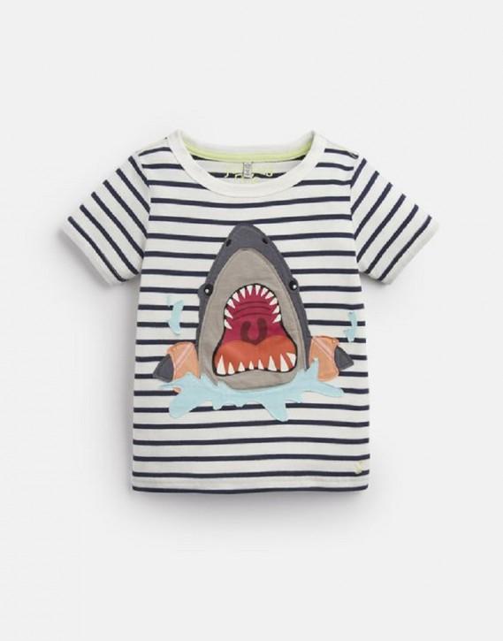 Joules Jungen T-Shirt ARCHIE Haifisch Streifen