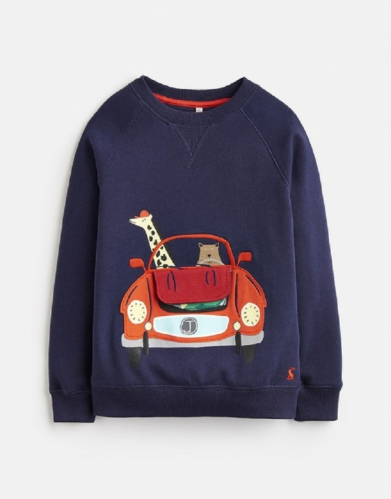 Joules Jungen Sweater VENTURA Car navy