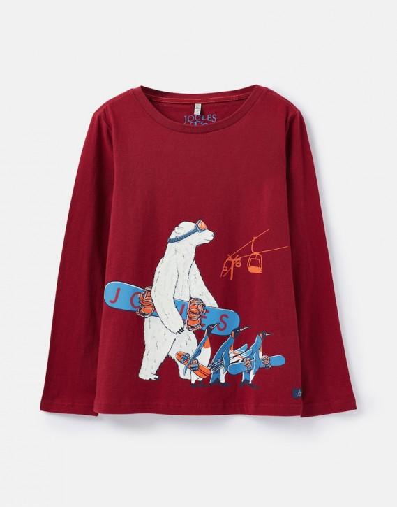 Joules Jungen Langarm-Shirt/Longsleeve RAYMOND Polorbär