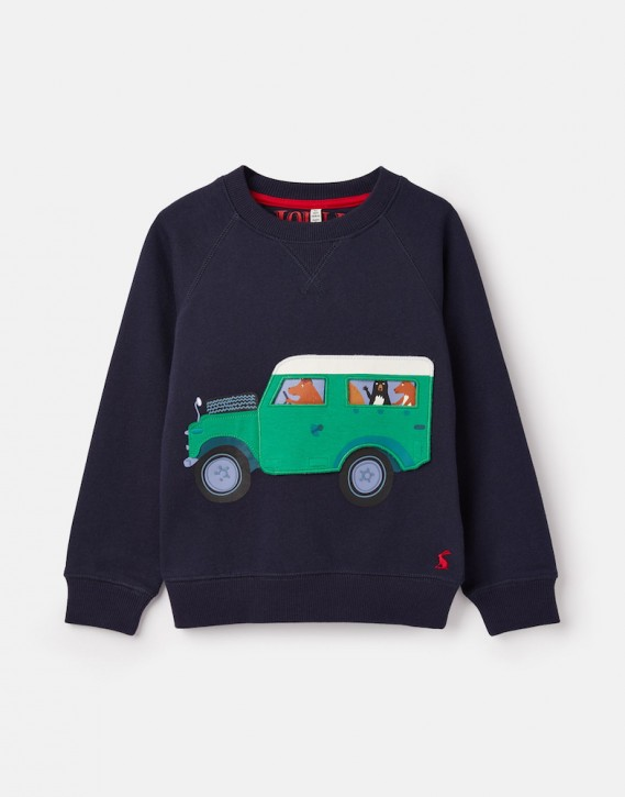 Joules Jungen Sweater VENTURA Jeep navy