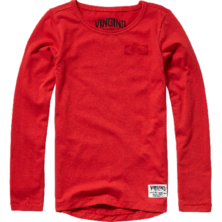 Vingino Langarm-Shirt/Longsleeve JURKO burnt red