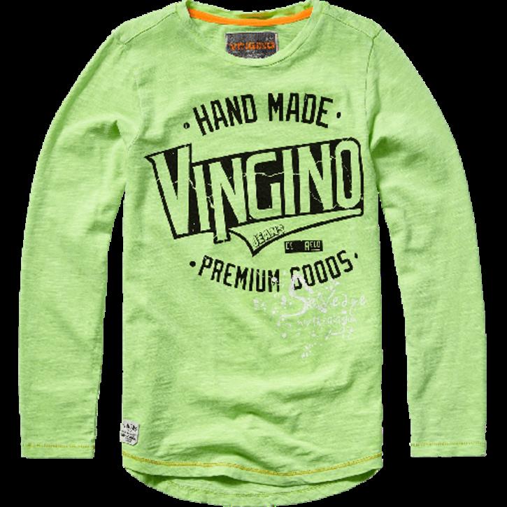 Vingino Langarm-Shirt/Longsleeve JUSTO neon green