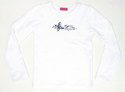 Kiezel-tje Shirt / Longsleeve grau-melange