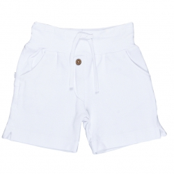 Kiezel-tje Sweat-Short weiß