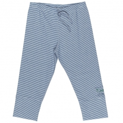 Kiezel-tje Legging feine Streifen blau