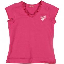 Kiezel-tje Basic T-Shirt pink